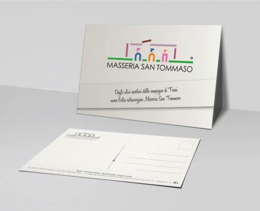Masseria San Tommaso Cartolina