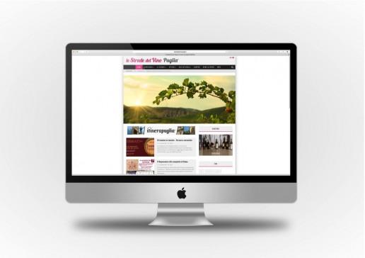 Le Strade del Vino Puglia Sito web