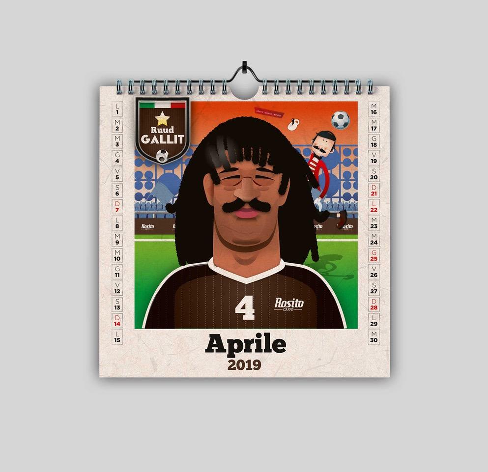 Rosito Calendario 2019 aprile