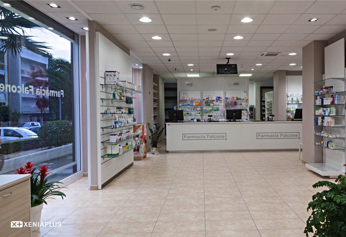 Farmacia Falcone Bancone