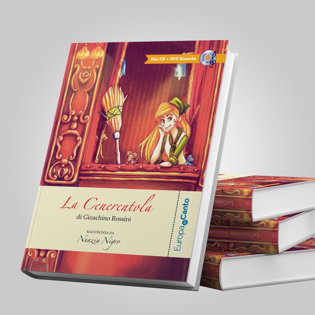 """Libro """"La Cenerentola"""" Cover"""
