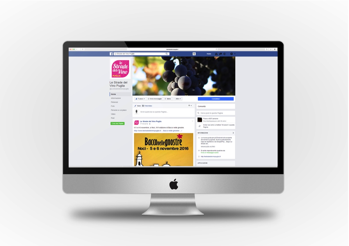 Le Strade del Vino Puglia facebook