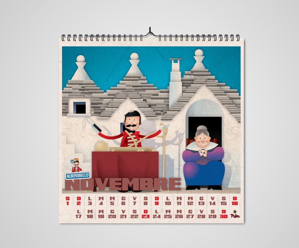 Rosito Calendario 2014 Novembre