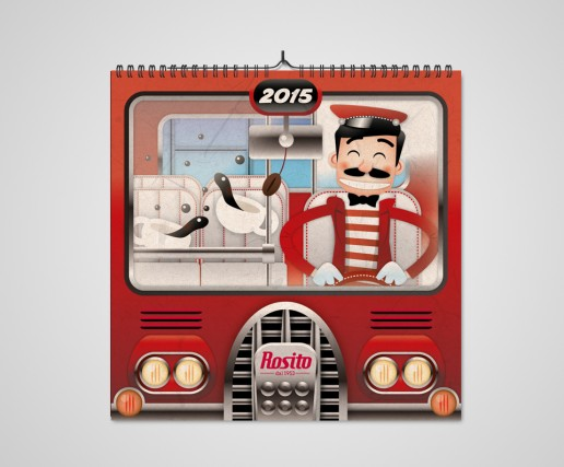 Rosito Calendario 2015