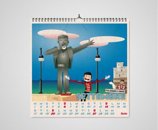Rosito Calendario 2015 Settembre