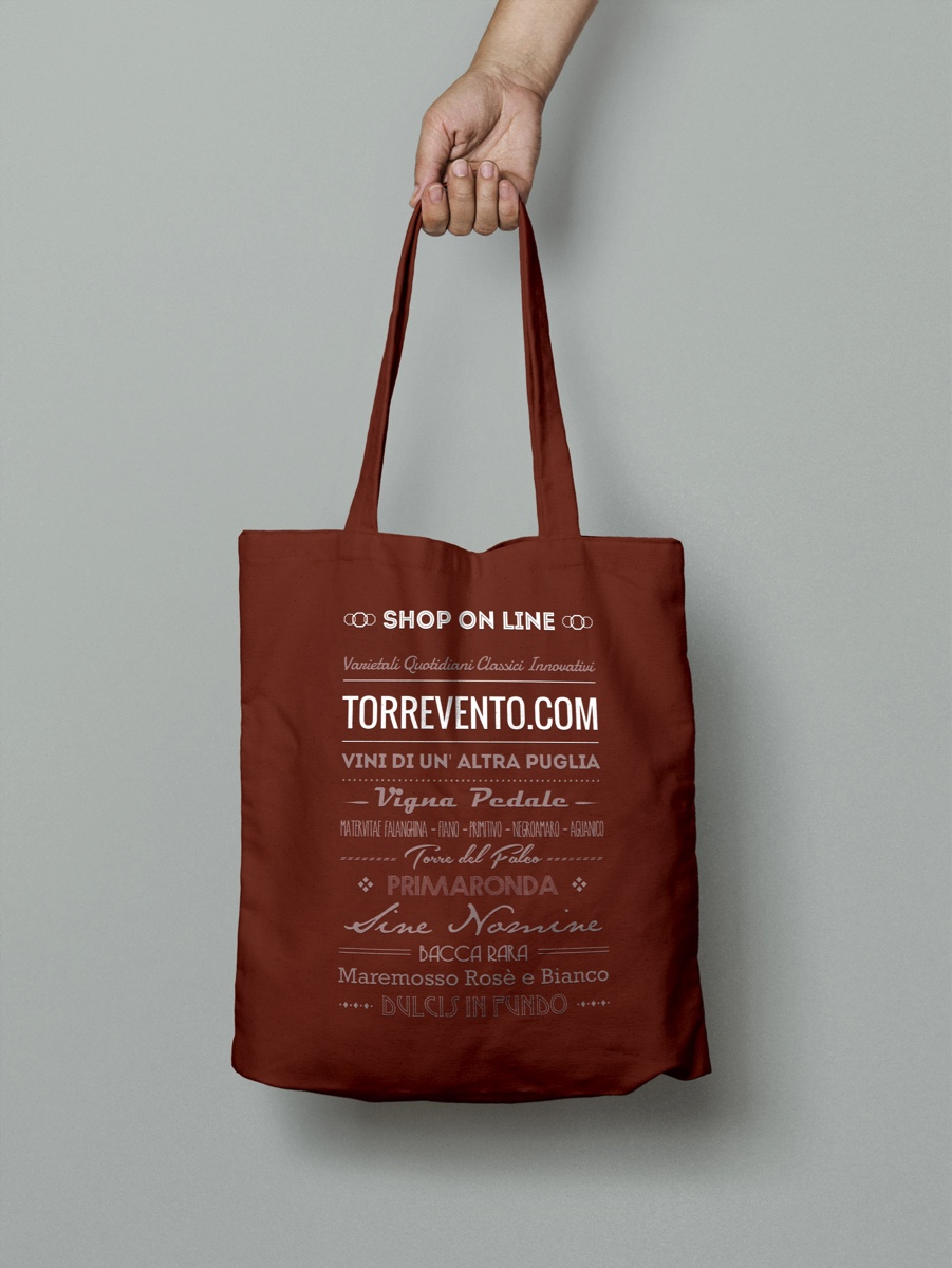 Torrevento Shopping Bag Marrone
