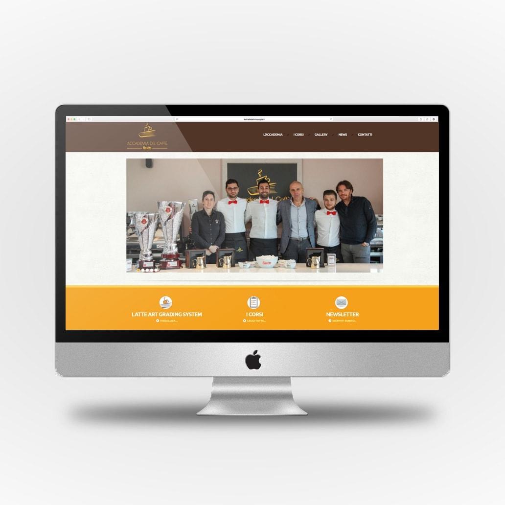Accademia del Caffè Rosito sito web