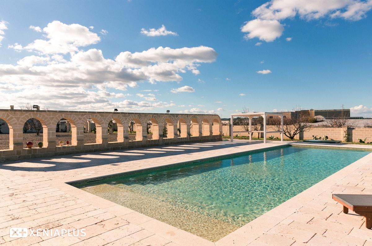 Lama San Giorgio foto piscina