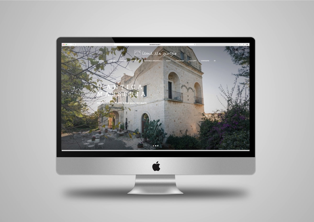 Lama San Giorgio Sito web